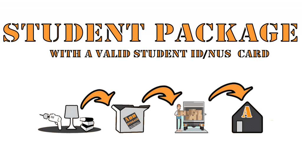 Our exclusive student storage package