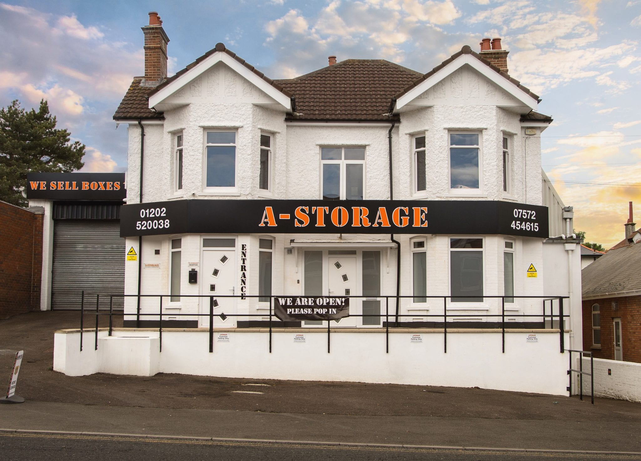 A picture of A-Storage in Charminster, Bournemouth