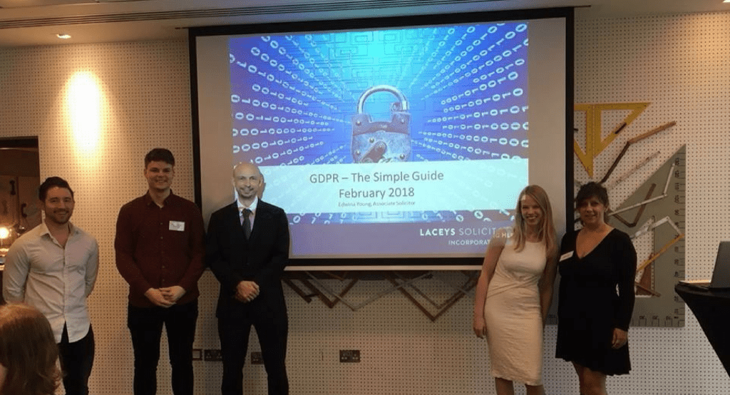 GDPR Seminar with Laceys Solicitors at The Hilton Bournemouth