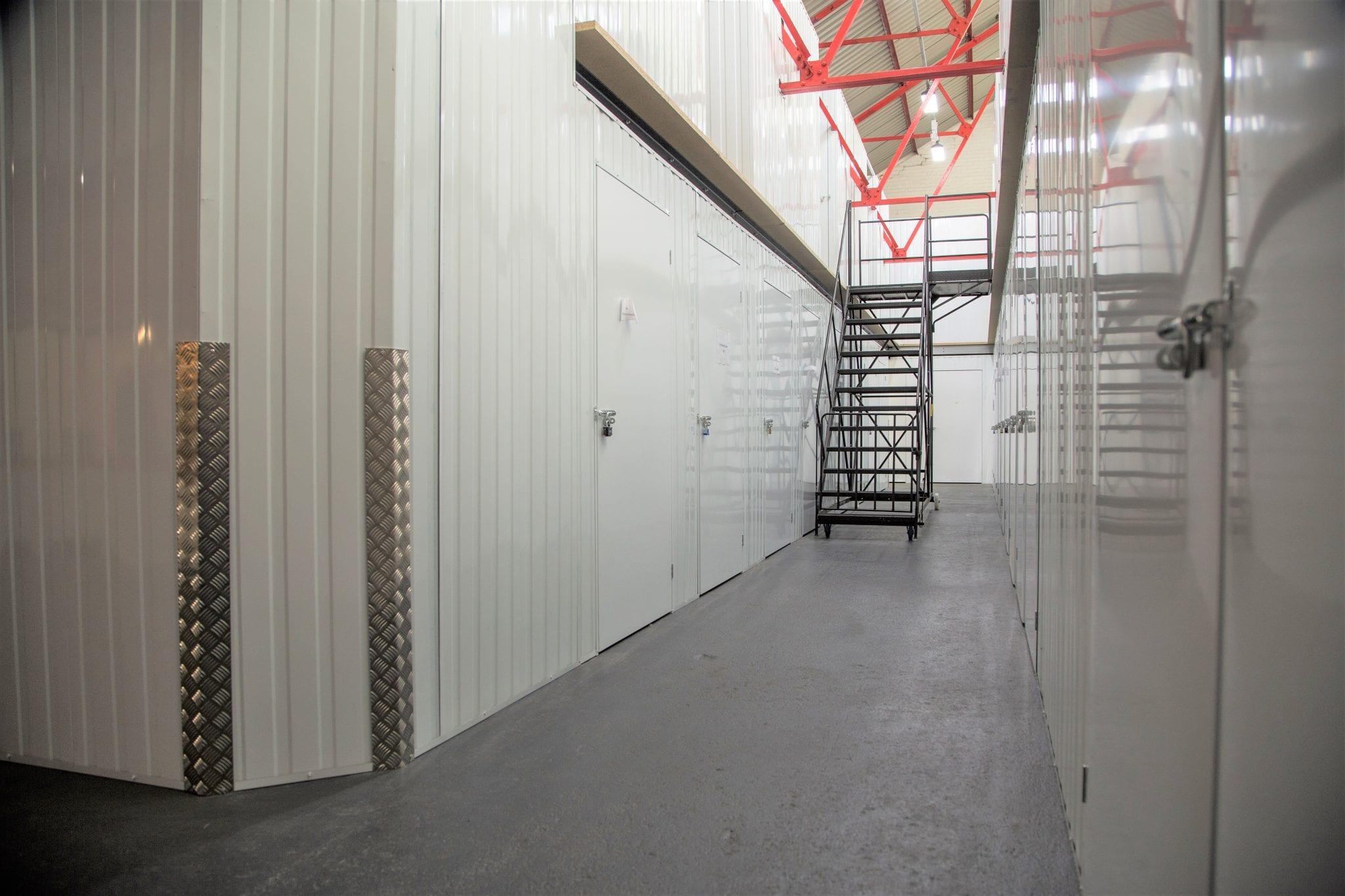 lefthand corridor