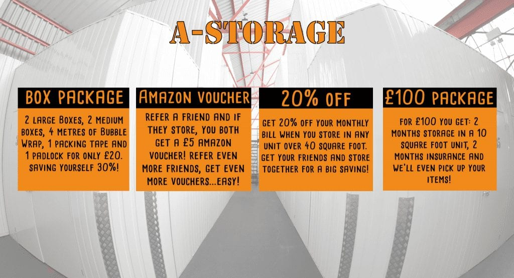4 Great Deals on Student Storage in Bournemouth!
