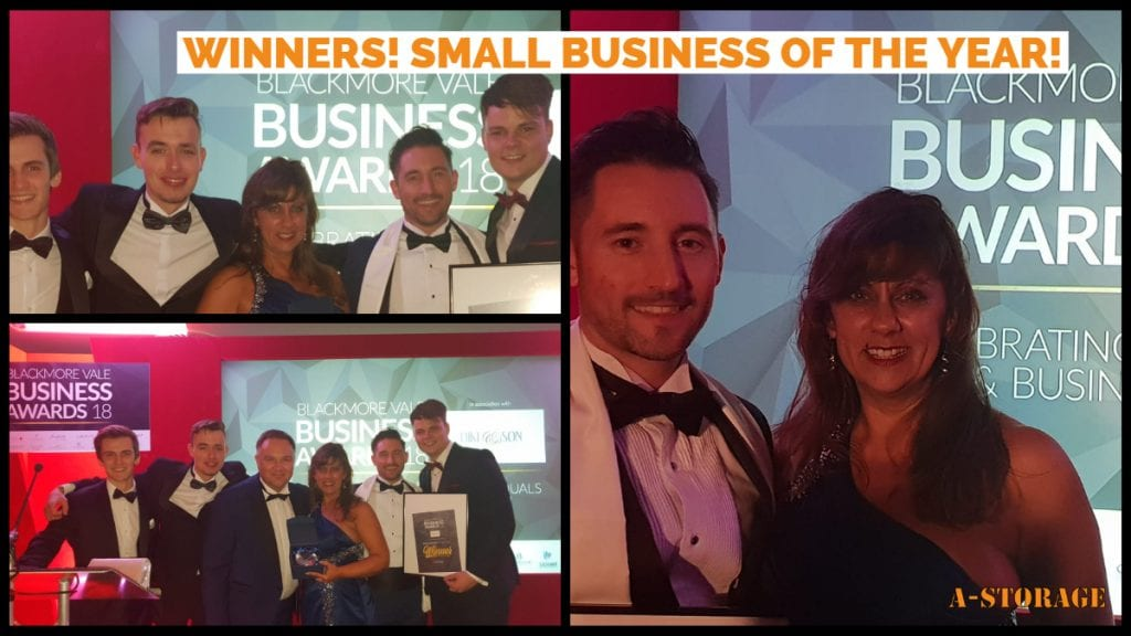 Blackmore Vale Business Awards, Small Business of The Year 2018!